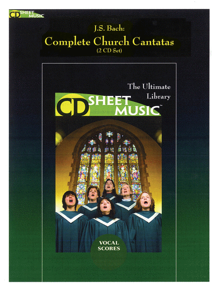 Bach: Complete Church Cantatas Vocal Scores (Version 2.0)