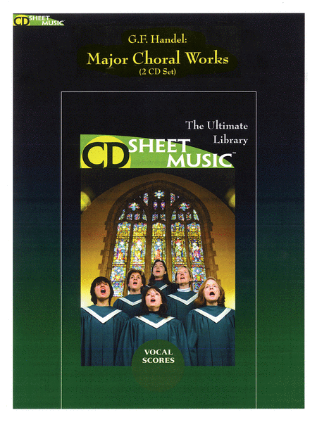 Handel: Major Choral Works Vocal Scores (Version 2.0)