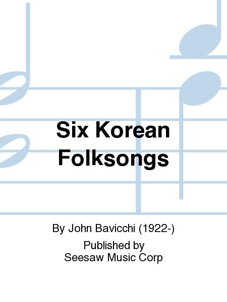 Six Korean Folksongs