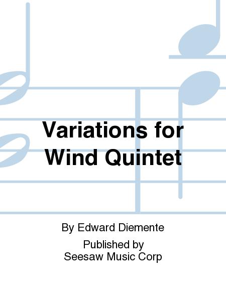 Variations for Wind Quintet