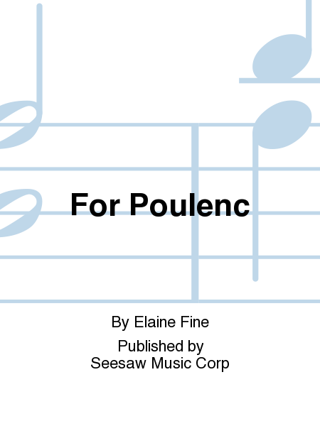 For Poulenc