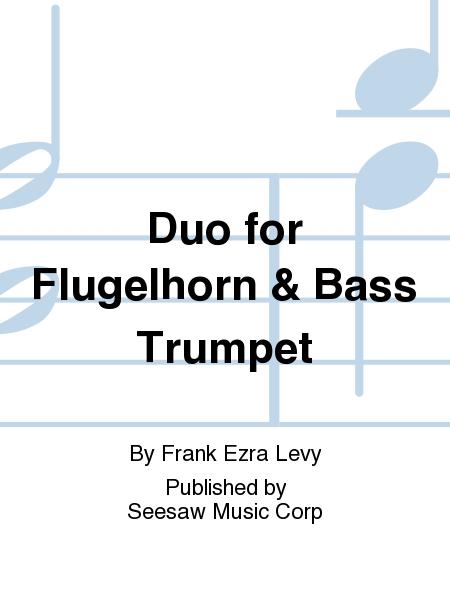 Duo for Flugelhorn & Bass Trumpet