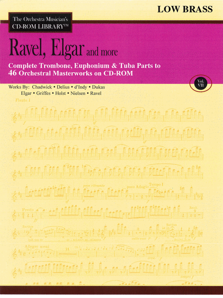 Ravel, Elgar and More - Volume VII (Low Brass)