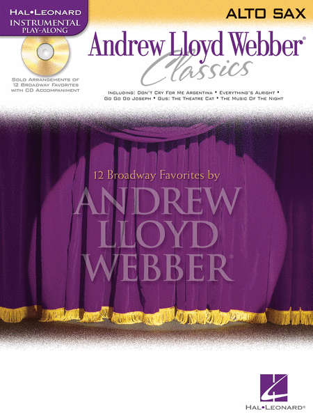Andrew Lloyd Webber Classics - Alto Sax