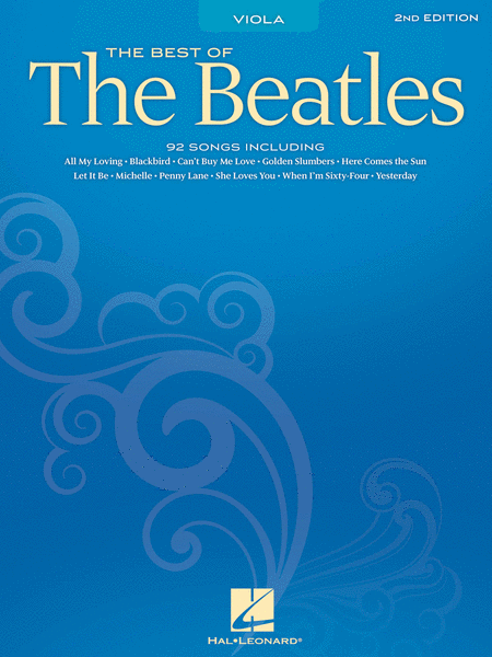 Best of the Beatles for Viola - 2nd Edition