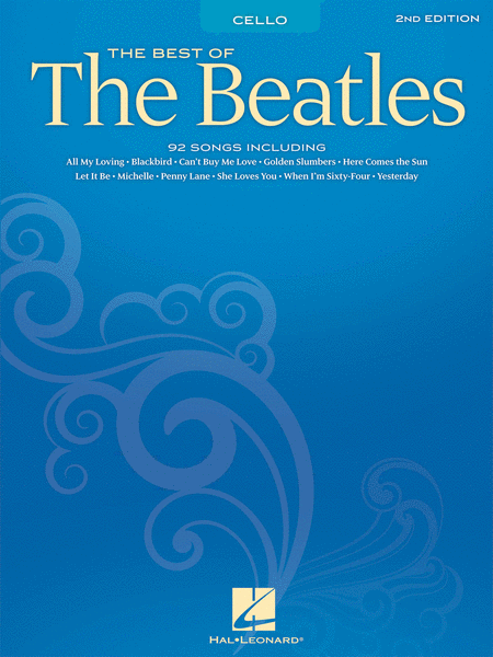 Best of the Beatles for Cello - 2nd Edition
