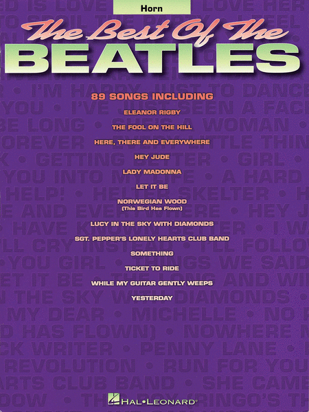 Best of the Beatles for French Horn