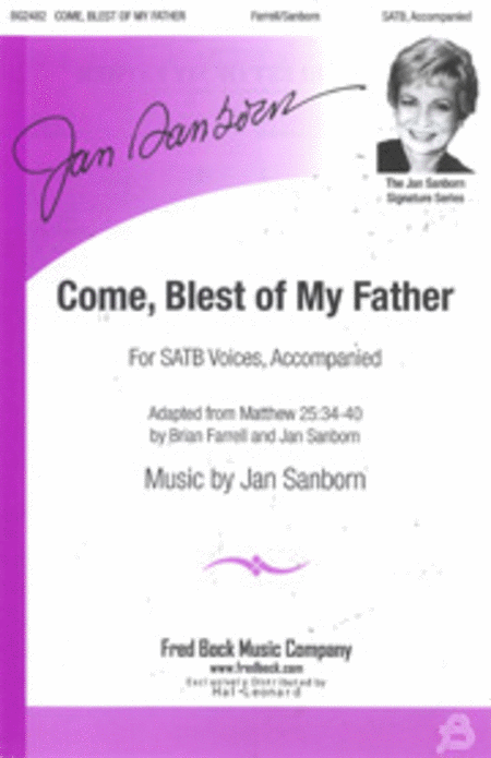 Come Blest of My Father - Rehearsal CD