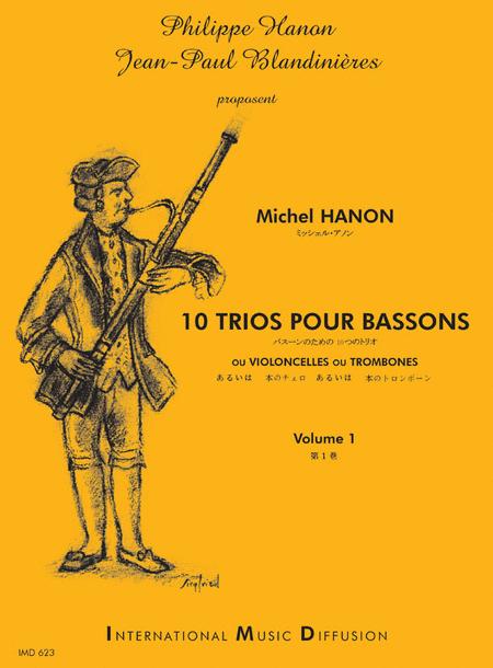 10 Trios Pour Bassons - Volume 1
