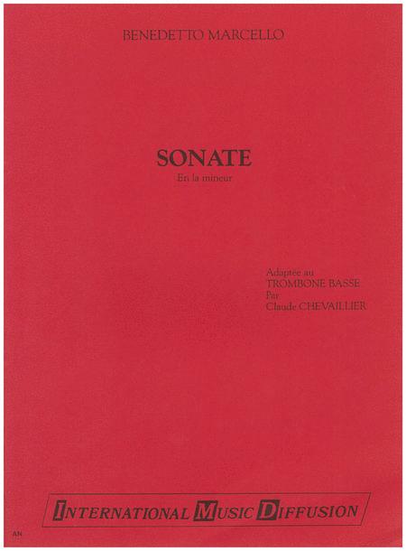 Sonate in La Minor