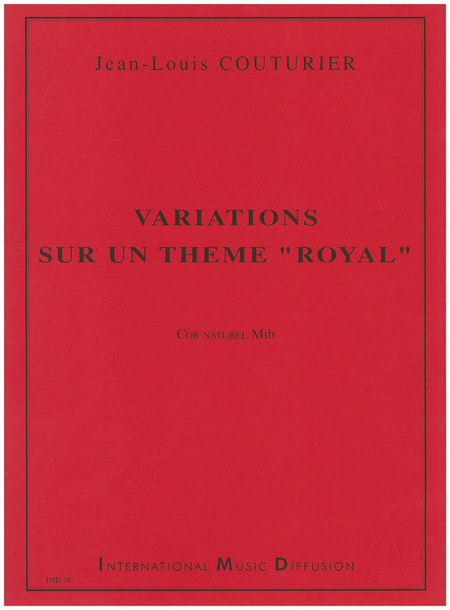 Variations Sur Un Theme Royal