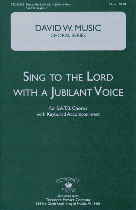 Sing to the Lord with A Jubilant Voice