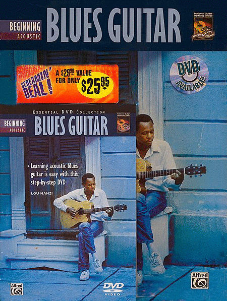 Beginning Acoustic Blues Guitar (Book & DVD)