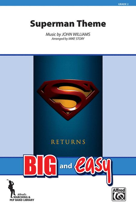 superman theme sheet music pdf