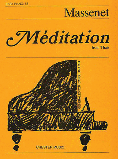 Meditation from Thais - Easy Piano