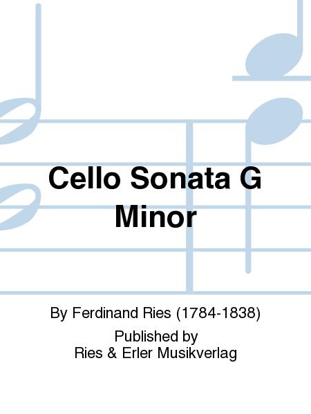 Cello Sonata G Minor