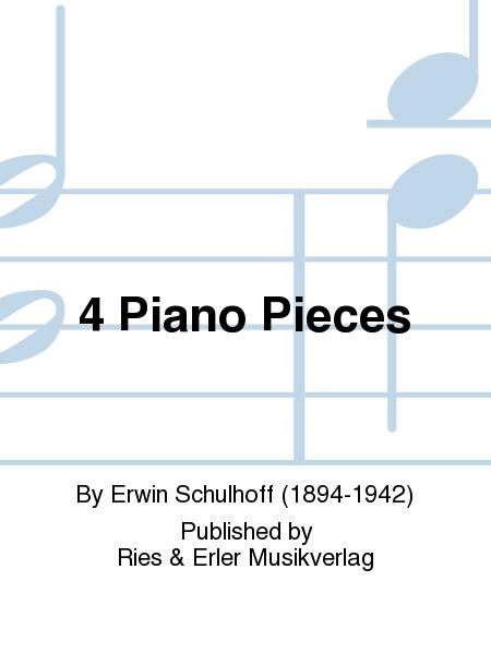 4 Piano Pieces