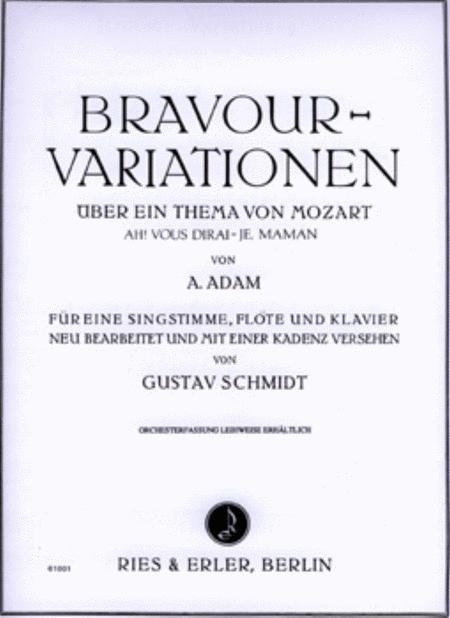 Bravour Variations Mozart Theme