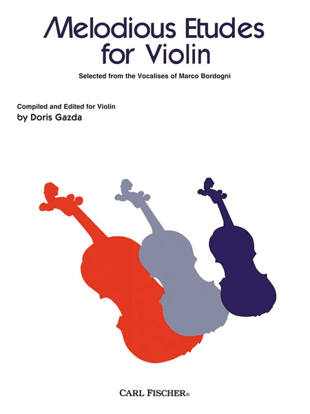 Melodious Etudes For Violin