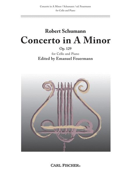Concerto for Cello in A Minor