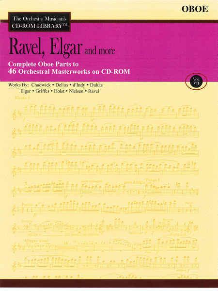 Ravel, Elgar and More - Volume VII (Oboe)