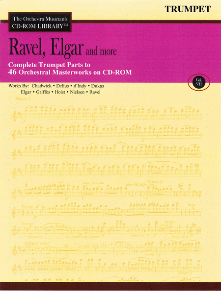 Ravel, Elgar and More - Volume VII (Trumpet)