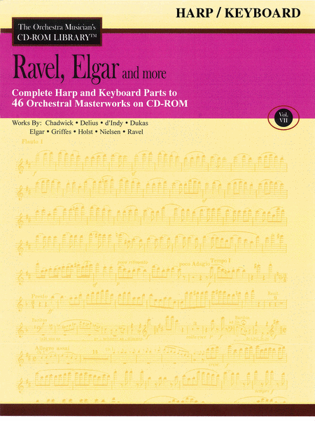 Ravel, Elgar and More - Volume VII (Harp/Keyboard)