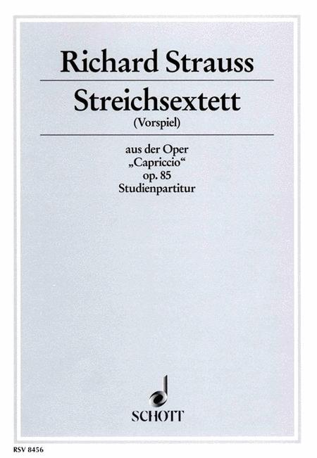 String Sextet (Capriccio) Op. 85