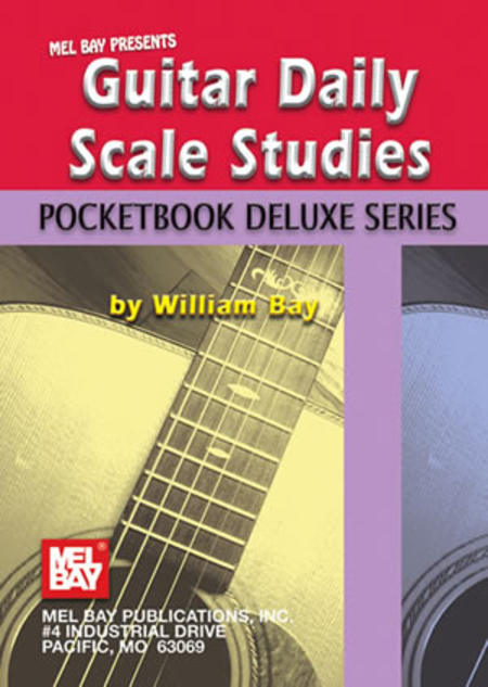 Guitar Daily Scale Studies, Pocketbook Deluxe Series