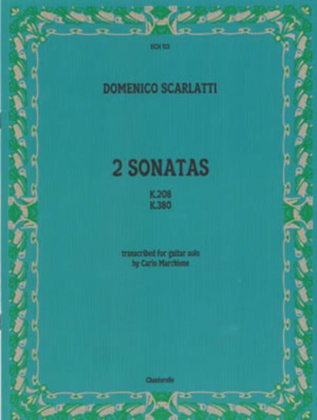 Domenico Scarlatti: 2 Sonatas K.208 and K.380