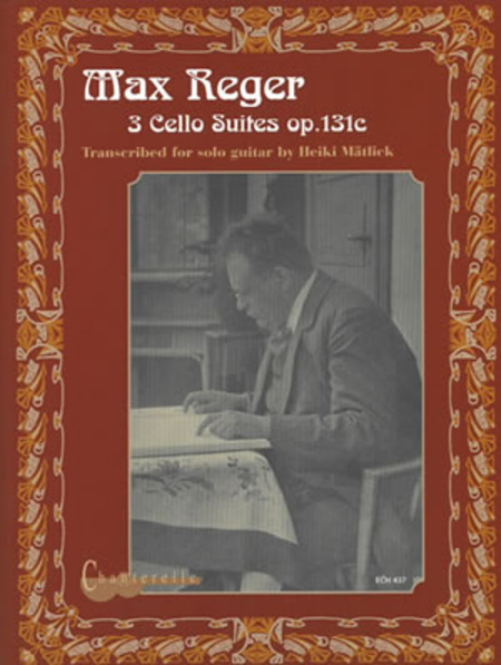 Max Reger: 3 Cello Suites Op.131c
