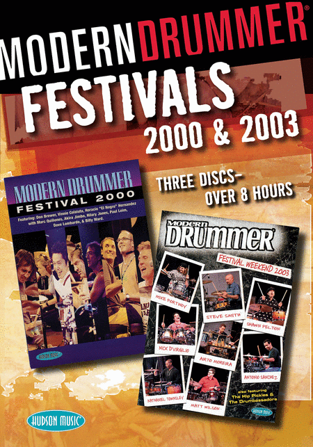 Modern Drummer Festivals 2000 & 2003