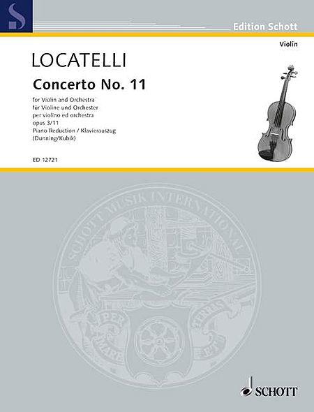 Concerto No. 11 in A Major, Op. 3