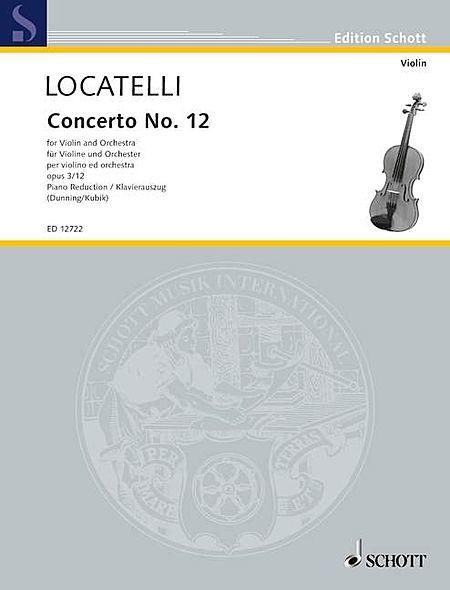 Concerto No. 12 in D Major, Op. 3