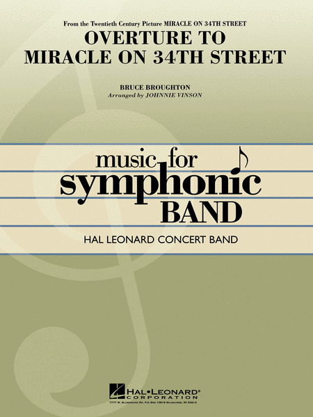 Preview Overture To Miracle On 34th Street By Bruce