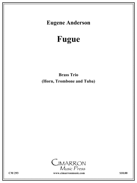 Fugue for Low Brass Trio