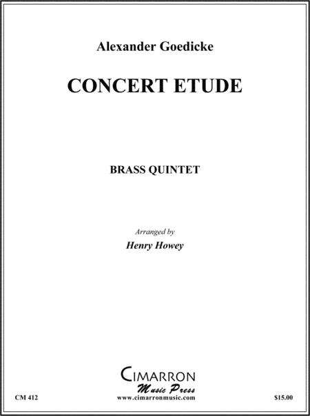Concerte Etude, Op. 49