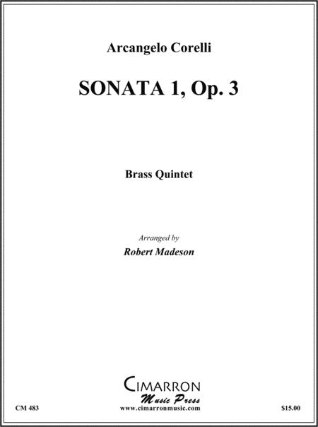 Sonata I, Op. 3