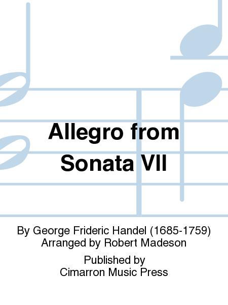 Allegro from Sonata VII