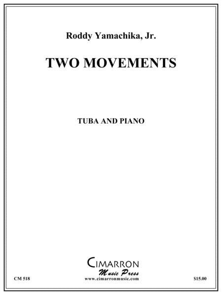 Two Movements for Solo Tuba
