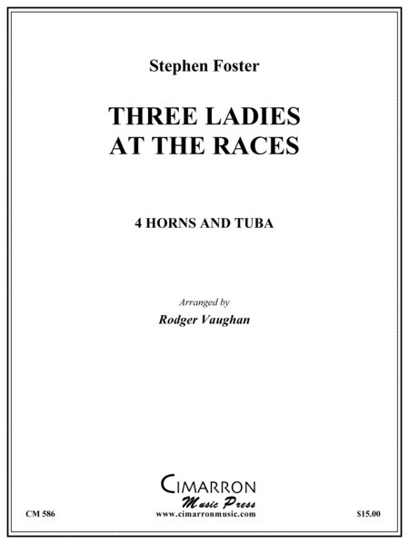 Three Ladies at the (Camptown) Races