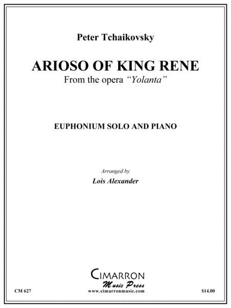 Arioso of King Rene