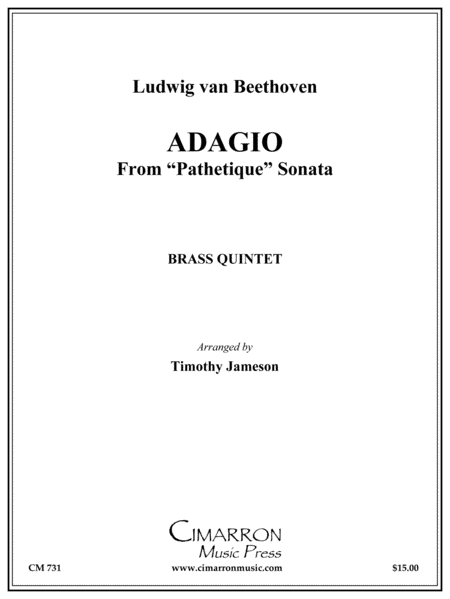 Adagio Cantible from Sonata