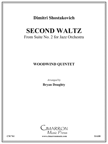 Second Waltz from Jazz Suite No. 2