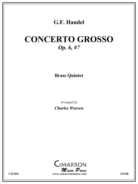 Grand Concerto, Op. 6 No. 7