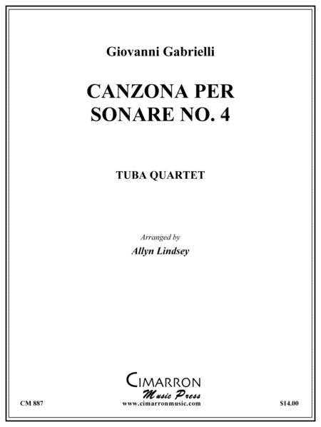 Canzona per Sonare No. 4