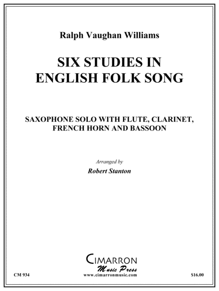 Six Studies in English Folk Song