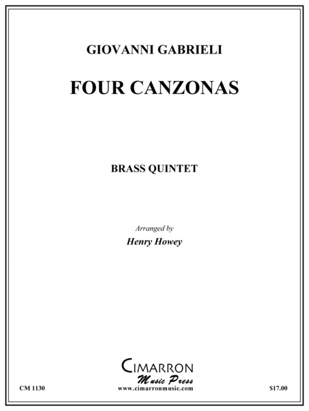 Four Canzonas