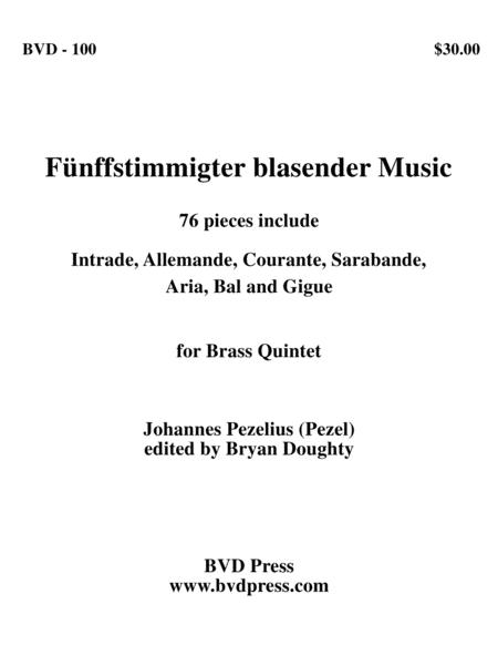 Funffstimmigter blasender Music