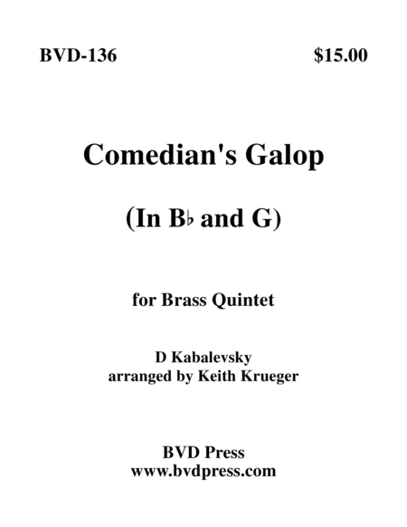 Comedian's Galop